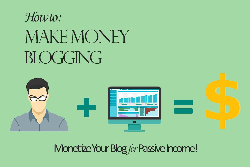 How to Make Money Blogging - Monetize Your Blog for a Passive Income